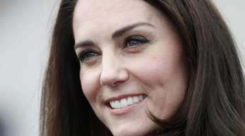 Die britische Herzogin Kate.