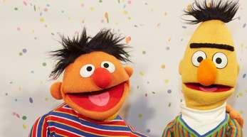 Ernie (l) und Bert.