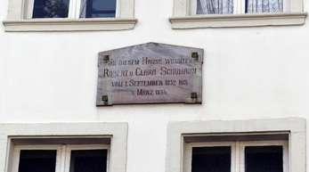 Robert und Clara Schumanns Wohnhaus in Düsseldorf soll ein Museum werden.