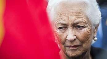 Die belgische frühere Königin Paola erlitt einen Schlaganfall.