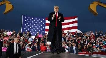 Wirft der EU erneut feindseliges Verhalten in Handelsfragen vor: US-Präsident Donald Trump.