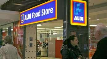 Aldi-Filiale in Sydney: Der deutsche Discounter steht in Australien wegen eines Streits um Milchpreise in der Kritik.