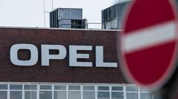 Opel-Werk im hessischen Rüsselsheim.