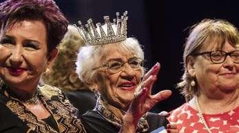Die 93-jährige Holocaust-Überlebende Tova Ringer (.) wurde zur Siegerin gekürt.