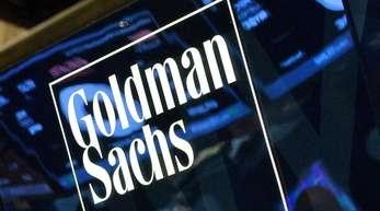 Goldman Sachs auf dem Börsenparkett an der WallStreet.