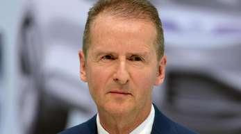 VW-Chef Herbert Diess prangert einen «Feldzug gegen die individuelle Mobilität» an.