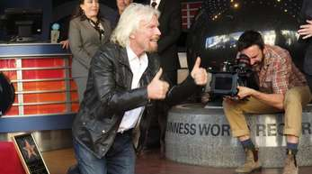 Sir Richard Branson bekam seinen Stern auf dem Hollywood Walk of Fame.