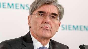 Joe Kaeser, Vorstandsvorsitzender von Siemens.