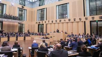 Blick in den Bundesrat in Berlin.