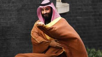 «Überhaupt keine Grenzen mehr»? Der saudische Kronprinz Mohammed bin Salman in der Londoner Downing Street.