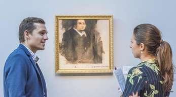 Kunst ohne Künstler?Der verschwommene Druck «Edmond de Belamy» wird beiChristie's versteigert.