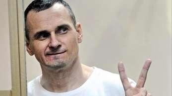 Oleg Senzow während der Urteilsverkündung.