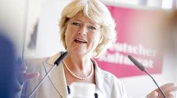 Monika Grütters (CDU) ist seit 2013 aktuell Kulturstaatsministerin.