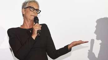 Jamie Lee Curtis, Schauspielerin und Produzentin aus den USA, stellte Anfang Oktober «Halloween» beim Filmfest Hamburg vor.