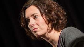 Eva Menasse bei der Lit. Cologne 2018.