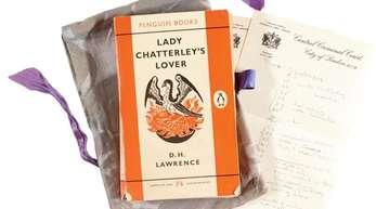 Ein Exemplar von «Lady Chatterley's Lover», der ersten Ausgabe als Penguin Book aus dem Jahr 1960.