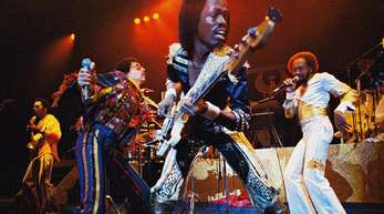 Earth, Wind & Fire 1980 im Luna Park Stadion (Buenos Aires).