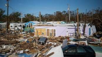 Zerstörte Häuser nachdem Hurrikan «Irma» über Florida hinweggefegt war.