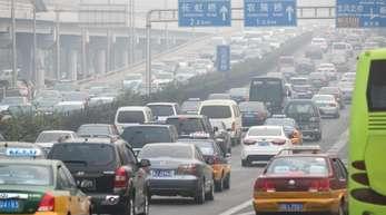 In China geht die Lust am Autokaufen zurück.