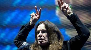 Ozzy Osbourne in Budapest 2016.