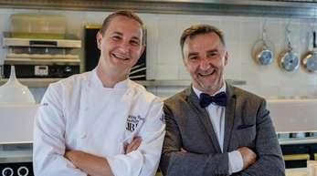 Johannes King (r) und Jan-Philipp Berner: Die beiden Sylter Spitzenköche sind vom Restaurantführer Gault-Millau zum «Koch des Jahres»-Duo gekürt worden.