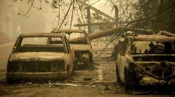 Die schweren Waldbrände in Kalifornien haben verheerende Schäden angerichtet.