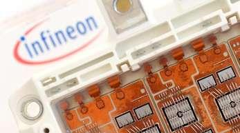 Der Chiphersteller Infineon konnte das operative Ergebnis um mehr als ein Fünftel auf 400 Millionen Euro steigern.