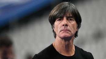 Bundestrainer Joachim Löw wünscht sich zwei Sieg zum Ende des verkorksten WM-Jahres.