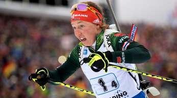 Laura Dahlmeier könnte schneller in den Wettkampf zurückkehren als ursprünglich angenommen.
