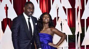 Er ist der aktuelle «Sexiest Man Alive», sie wird Botschafterin der Golden Globes:Idris Elba und seine Tochter Isan.