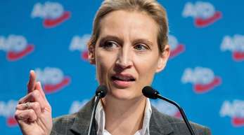 Eine Großspende nach der anderen: AfD-Fraktionschefin Alice Weidel muss viele Fragen beantworten.