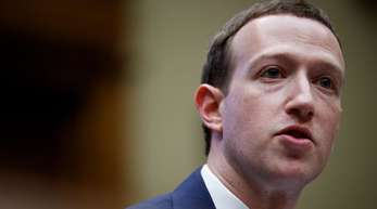 Facebook-Chef Mark Zuckerberg im April in Washington.