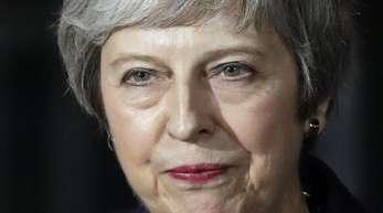 Premierministerin Theresa May steht in Sachen Brexit unter Druck.