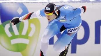 Eisschnellläufer Nico Ihle wurde Fünfter über 500 Meter.