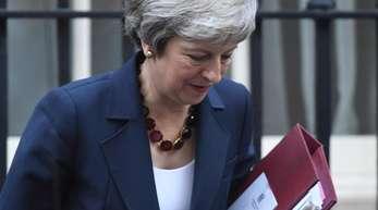 Unter Druck: die britische Premierministerin Theresa May.