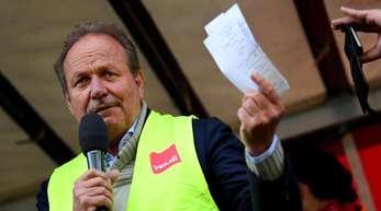Verdi-Chef Frank Bsirske begrüßt die Pläne von SPD-Chefin Nahles, Hartz IV durch eine Alternative zu ersetzen, ausdrücklich.