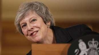 Theresa May, Premierministerin von Großbritannien, schaffte es bis jetzt immer, eine Revolte abzuwenden.