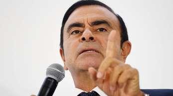 Carlos Ghosn, Vorstandsvorsitzender von Renault-Nissan-Mitsubishi, steht unter Druck