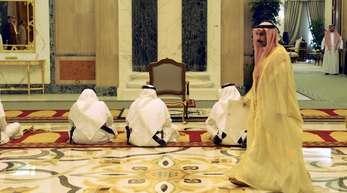 Saudi-Arabien duldet keine Kritik am Königshaus.