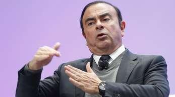 Carlos Ghosn, Vorstandsvorsitzender von Renault-Nissan-Mitsubishi, wurde verhaftet.