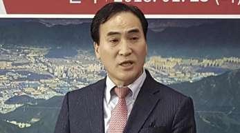 Der Südkoreaner Kim Jong Yang.