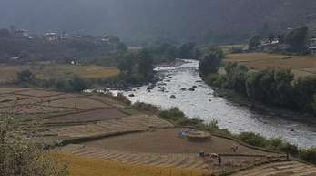 Bhutan gilt als einziges klimaneutrales Land der Welt, leidet aber unter den Folgen des Klimawandels.