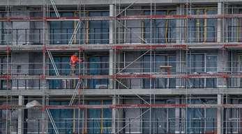 Das Bauhauptgewerbe profitiert schon länger von der guten Konjunktur und der starken Nachfrage nach Wohnungen.