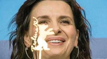 Juliette Binoche auf der Berlinale 2015.