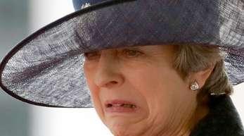 Theresa May, Premierministerin von Großbritannien.