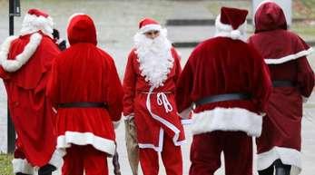 Weihnachtsmänner sind rar.