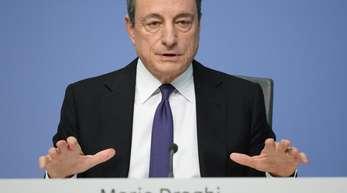 EZB-Präsident Mario Draghi hatte wiederholt bekräftigt, dass die Zinsen bis «mindestens über den Sommer 2019» auf dem aktuellen Niveau bleiben werden.