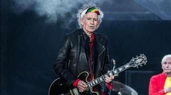 Nüchtern auf der Bühne - eine ganz neue Erfahrung für Keith Richards.