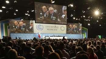 Mehr als 30.000 Teilnehmer und Beobachter waren zu der Konferenz in Kattowitz angereist.