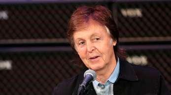 Paul McCartney hatte ungebetenen Besuch.